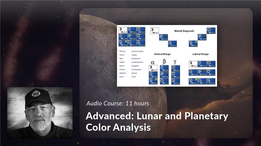 Advanced: Lunar and Planetary Color Analysis