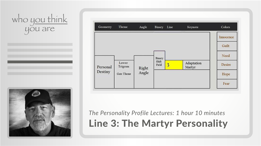 Line 3 - The Martyr Personality