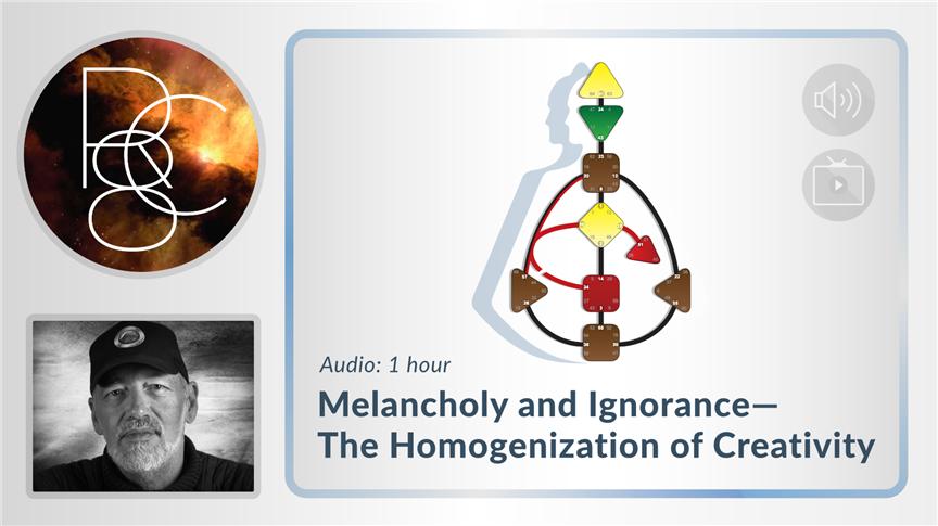 Melancholy and Ignorance - The Homogenization of Creativity
