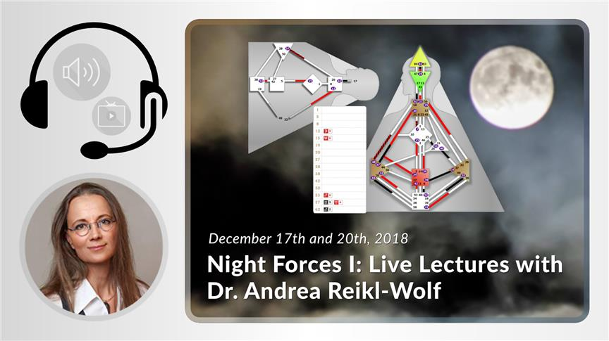 Night Forces I: Live Lecture with Dr. Andrea Reikl-Wolf