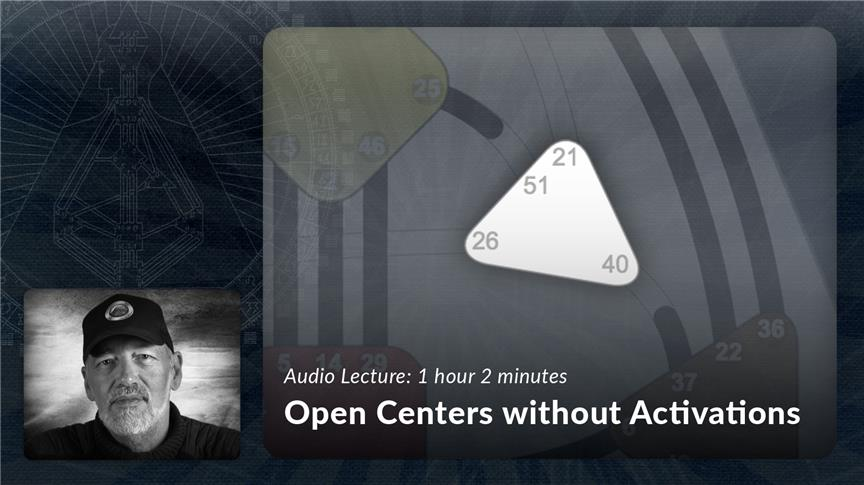Open Centers without Activations