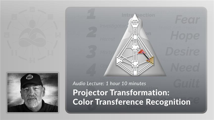 Projector Transformation - Color Transference Recognition