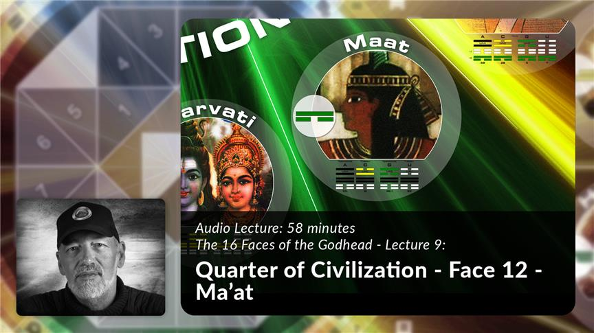 Quarter of Civilization - Face 12 - Ma'at