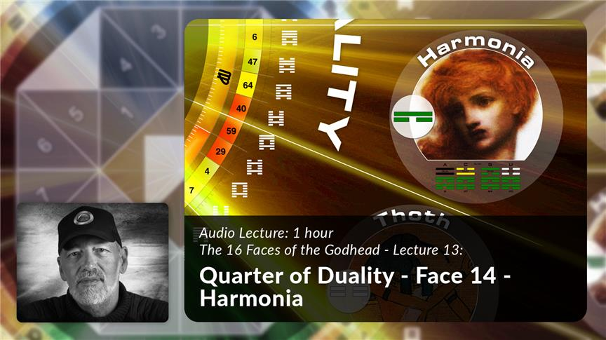 Quarter of Duality - Face 14 - Harmonia