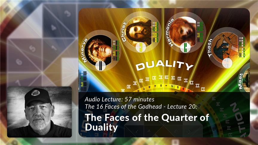 The Faces of the Quarter of Duality