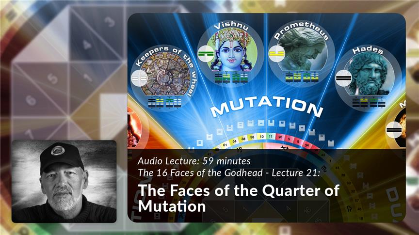 The Faces of the Quarter of Mutation