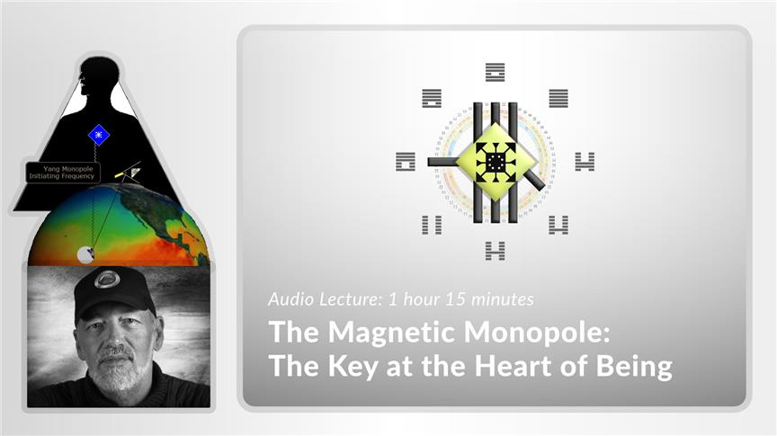The Magnetic Monopole: The Key at the Heart of Being