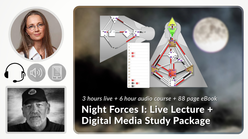 Night Forces I: Live Lecture & Digital Media Study Package