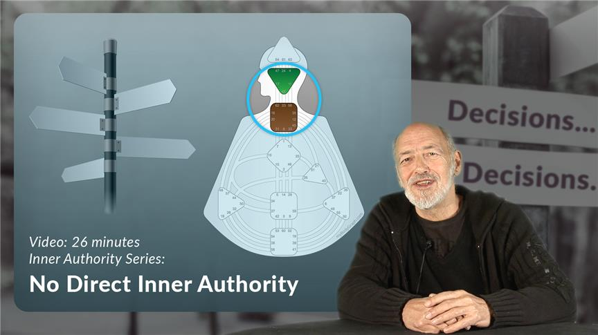 Inner Authority - No Direct Inner Authority