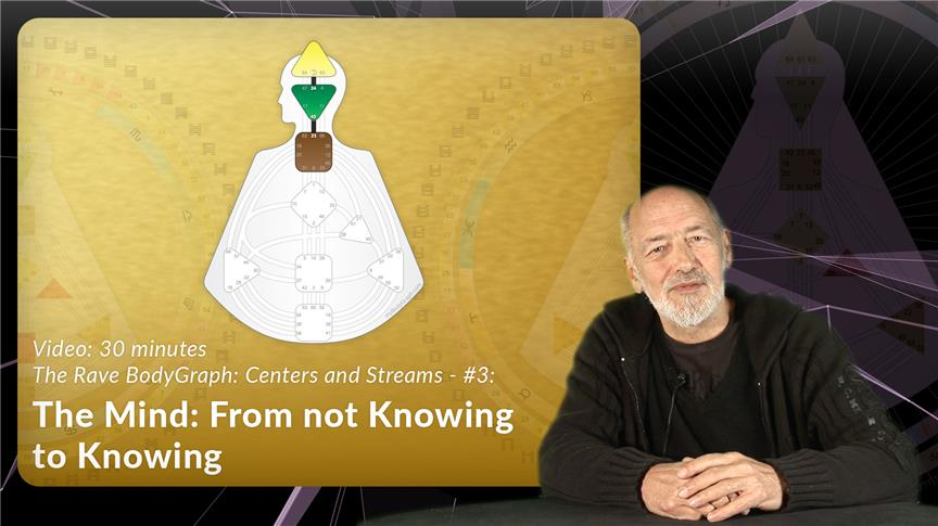 The Mind: From not Knowing to Knowing