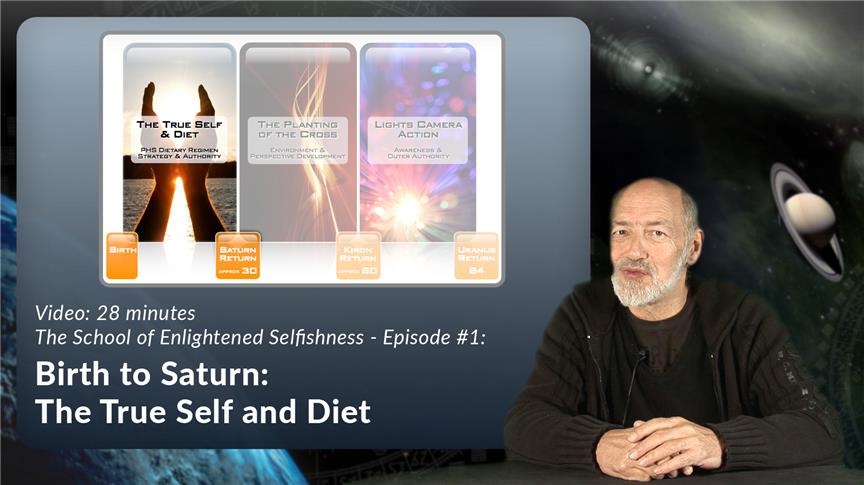 Birth to Saturn: The True Self and Diet