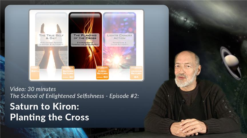 Saturn to Kiron: Planting the Cross